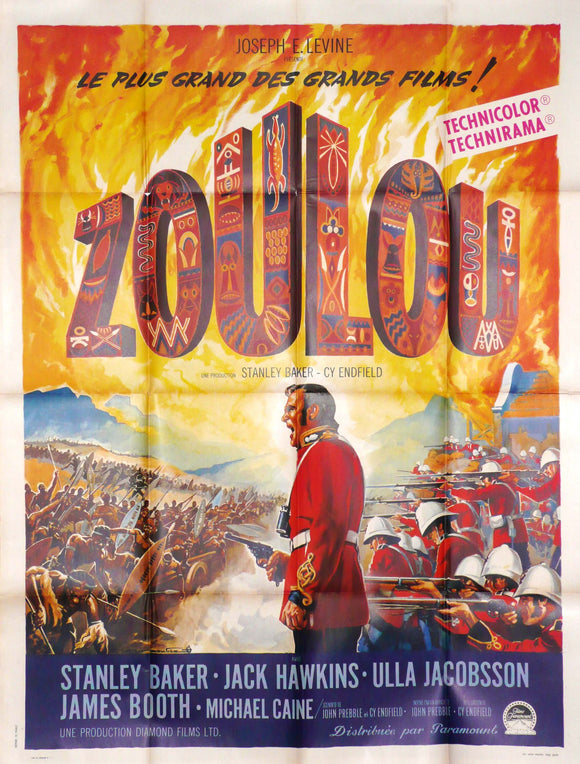 Zulu, Original Movie Poster, 1964