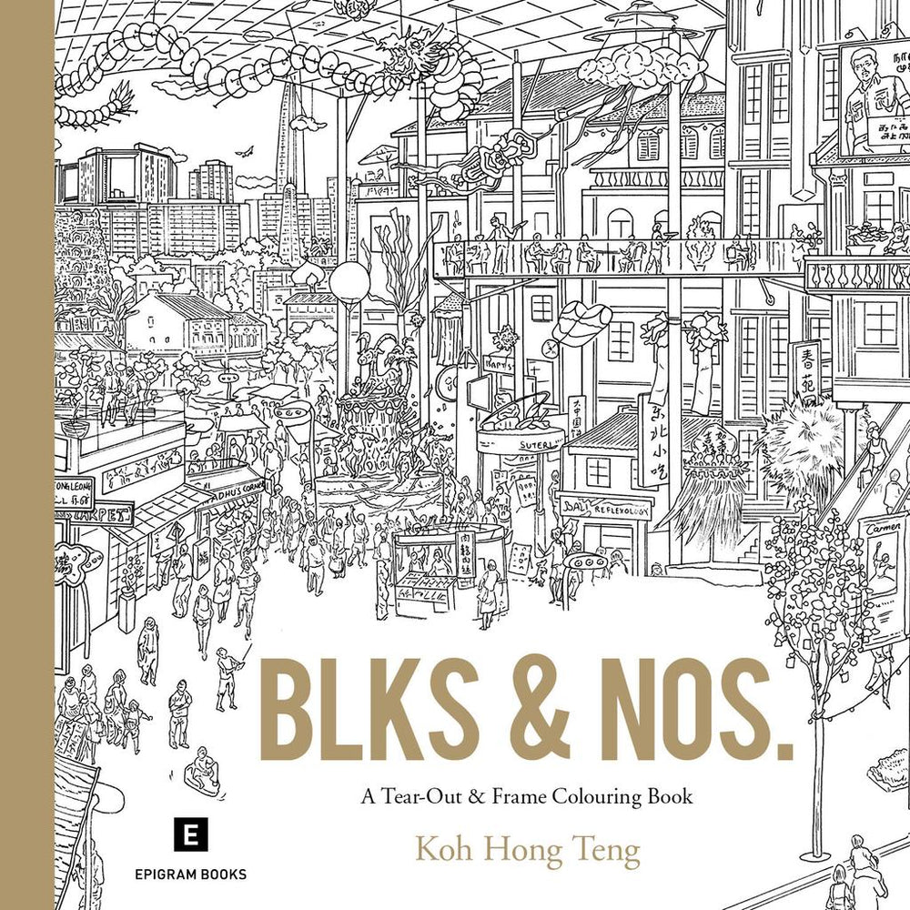 Blks and Nos Colouring Book