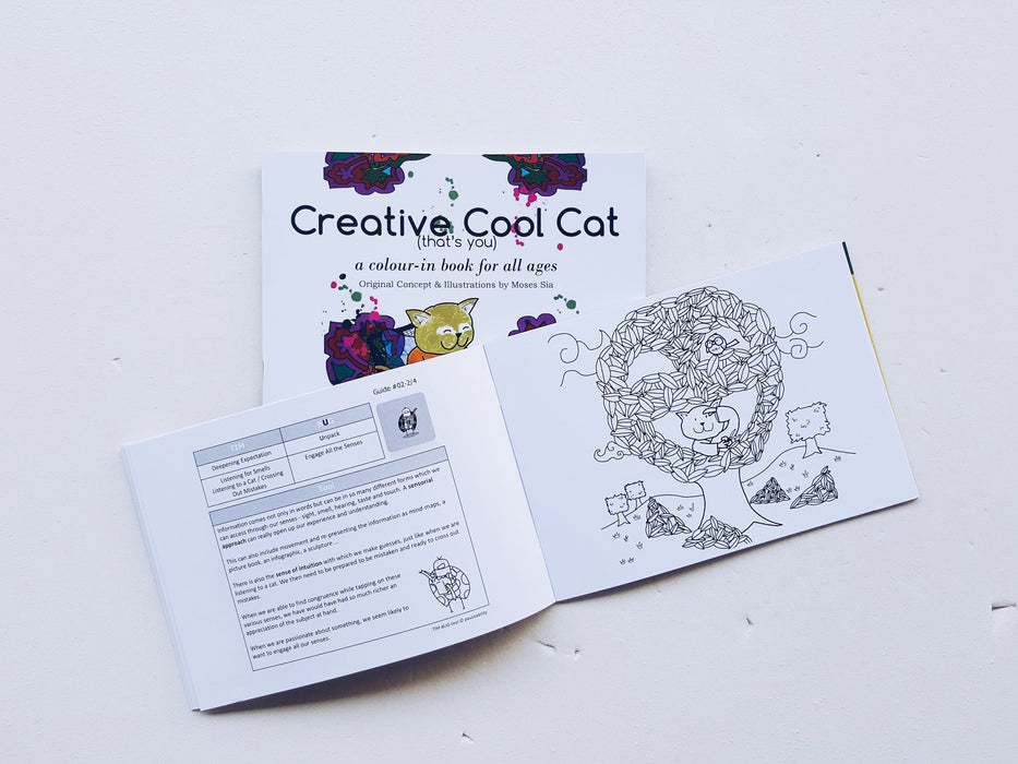Creative Cool Cat - Localbooks.sg