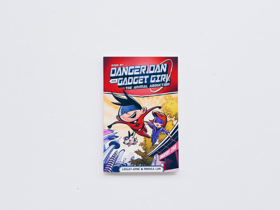 Danger Dan and Gadget Girl: The Animal Abduction