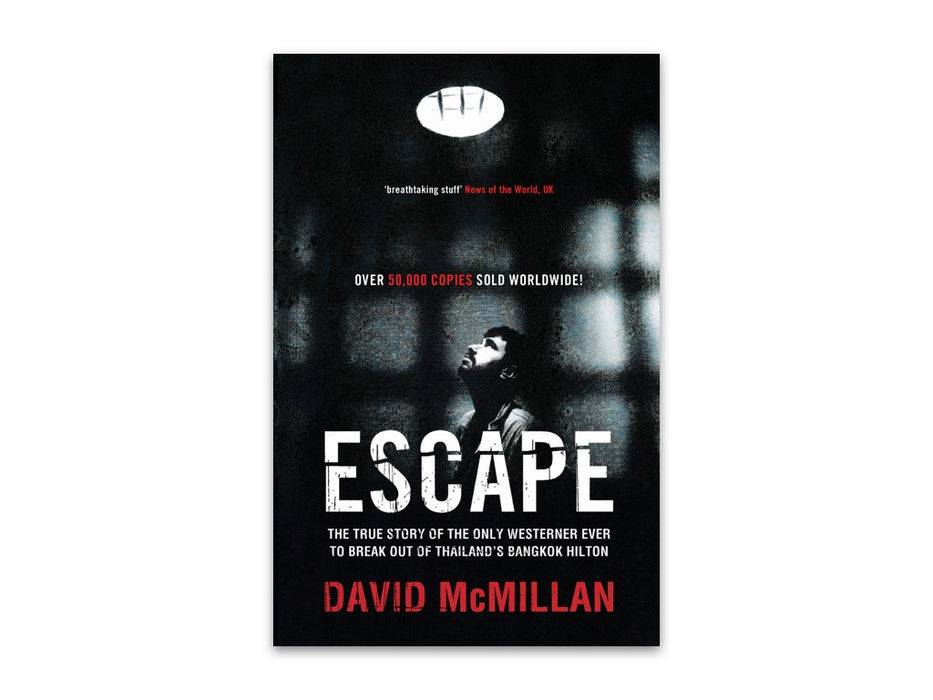 Escape by David McMillan bookcover