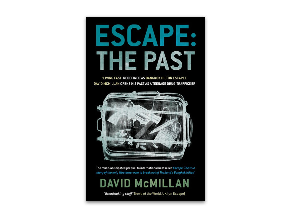 Escape: The Past by David McMillan bookcover