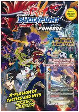Future Card Buddyfight X  / Cardfight! Vanguard NEXT Fanbook - Localbooks.sg