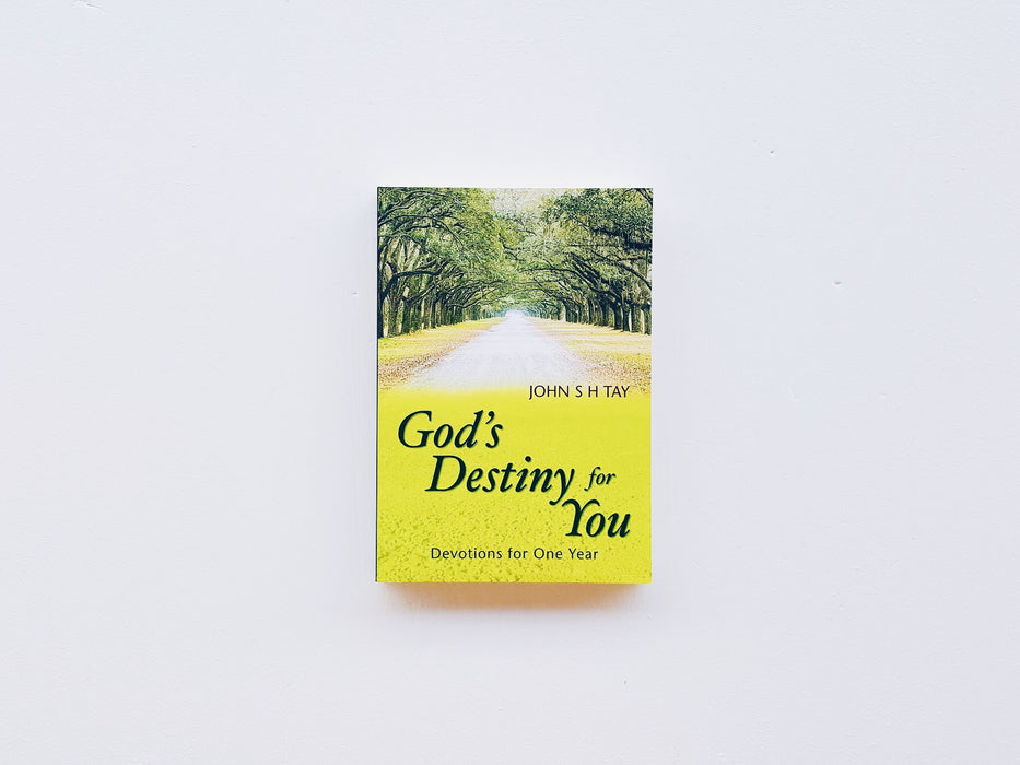 God's Destiny for You