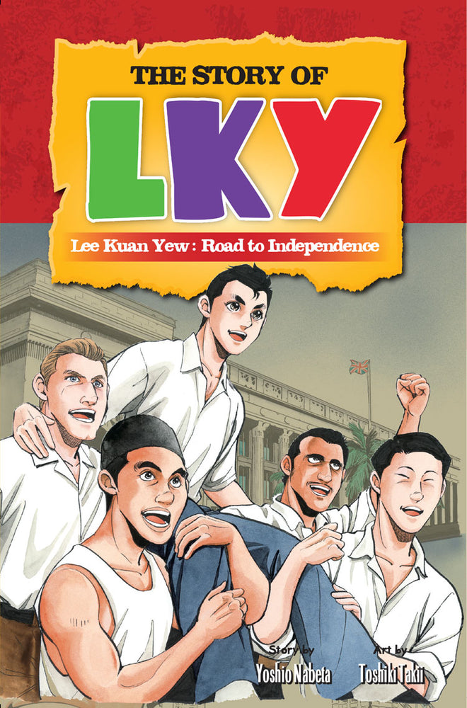 The Story of LKY #2 - Localbooks.sg