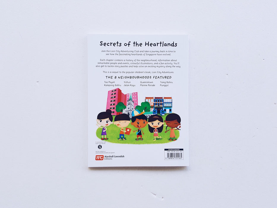 Lion City Adventures: Secrets Of The Heartlands