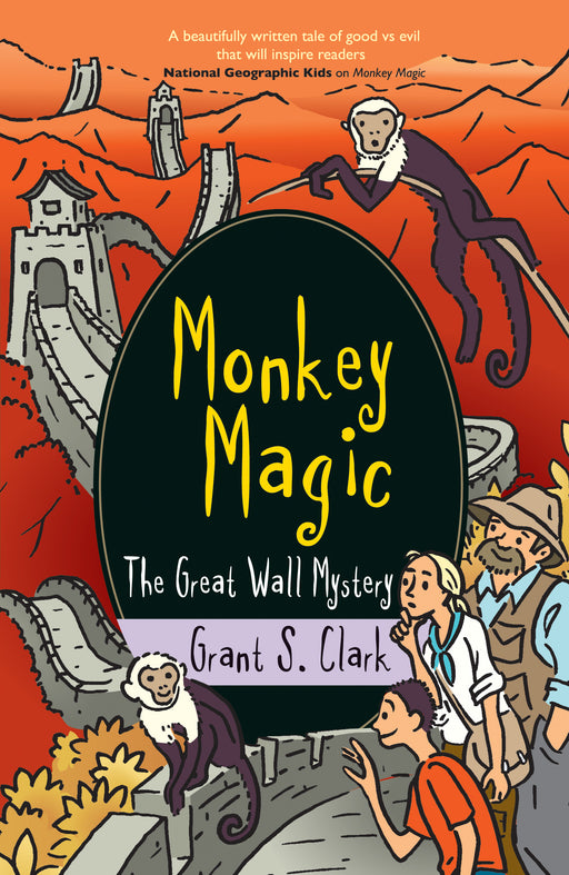 Monkey Magic: The Great Wall Mystery