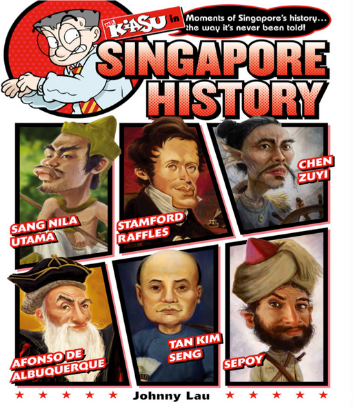 Mr Kiasu in Singapore History (Preorder)