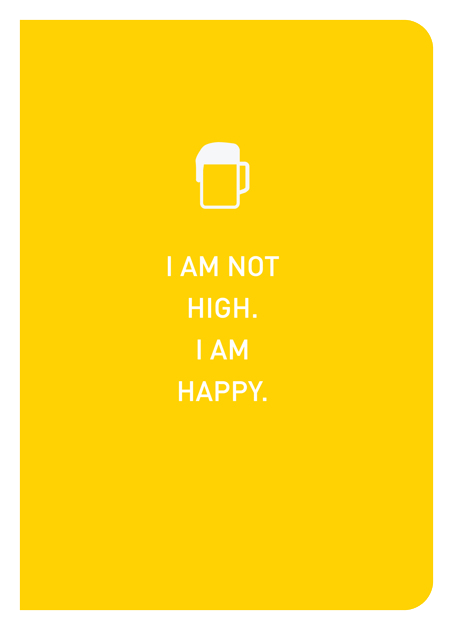 I Am Not High. I Am Happy. - Localbooks.sg