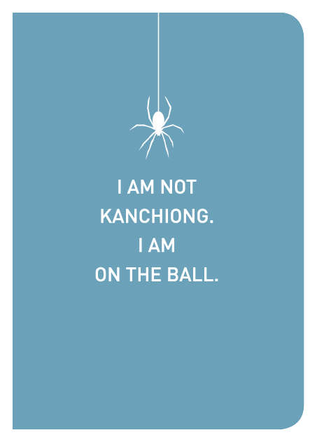 I Am Not Kanchiong. I Am On The Ball. - Localbooks.sg