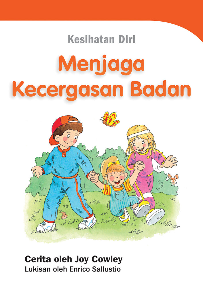 Joy Cowley Well-Being Series: Physical Well-Being (Malay Edition) (Set of 8 booklets)