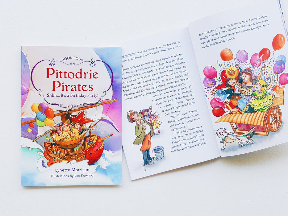 Pittodrie Pirates (Book 4): ShhhÉ It's a Surprise Party!