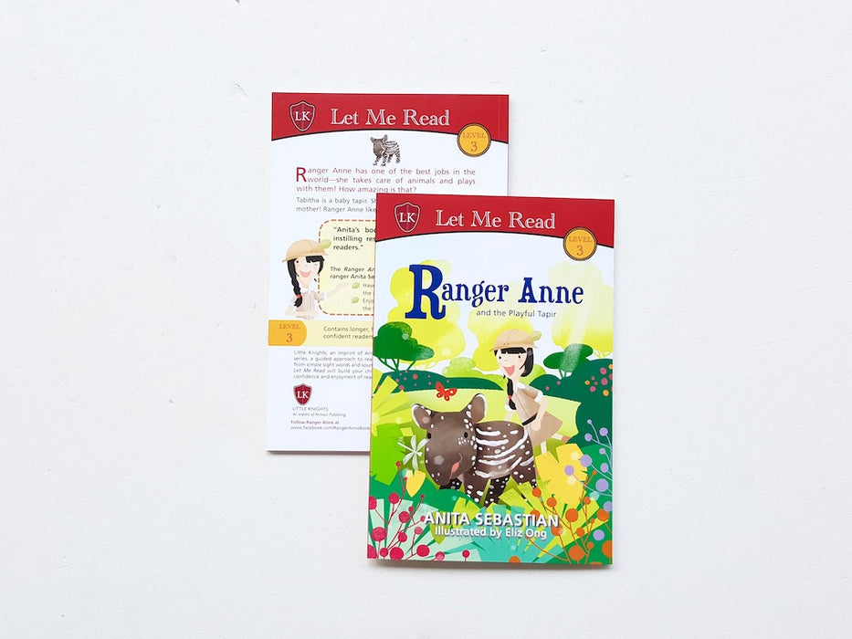 Ranger Anne and the Playful Tapir - Localbooks.sg
