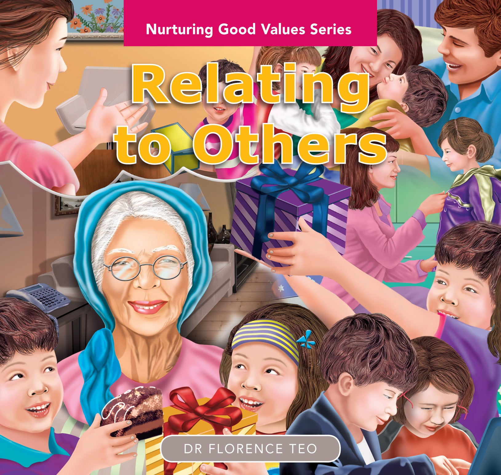 Nurturing Good Values Series: Relating to Others (Set of 6 booklets)