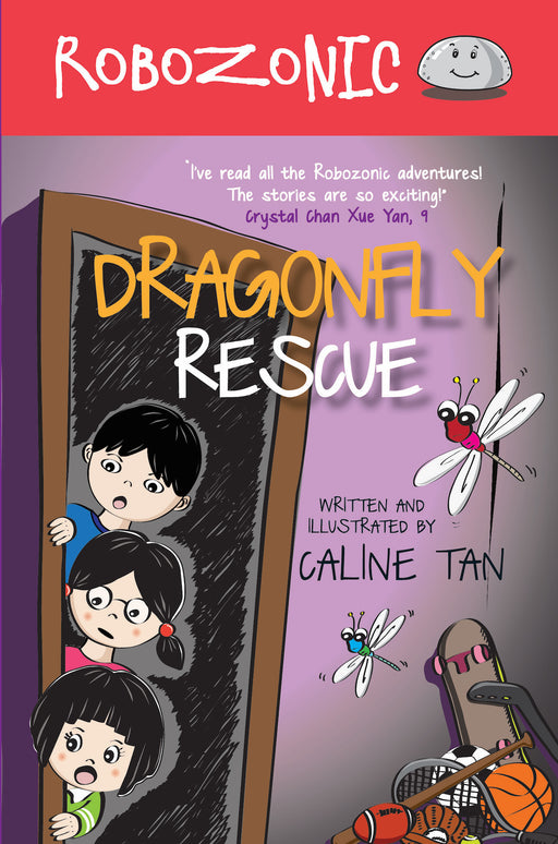 Robozonic: Dragonfly Rescue (book 5)