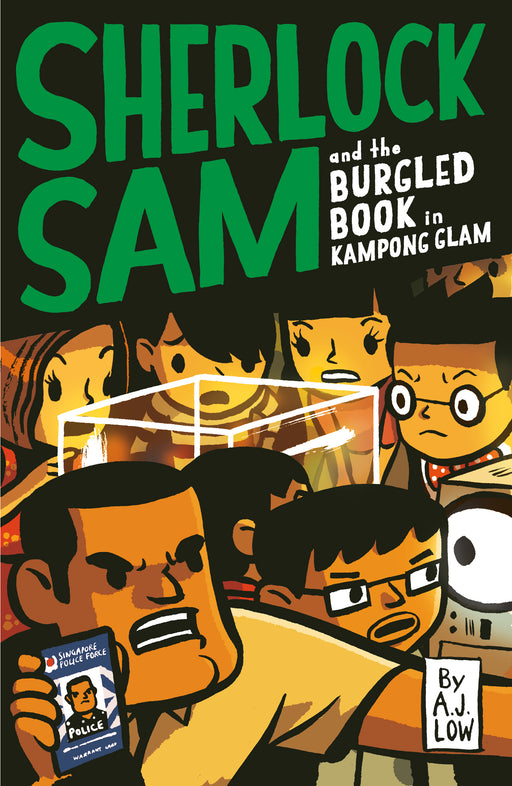 Sherlock Sam and the Burgled Book in Kampong Glam (book 14)