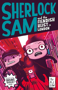 Sherlock Sam and the Fiendish Heist in London - Localbooks.sg