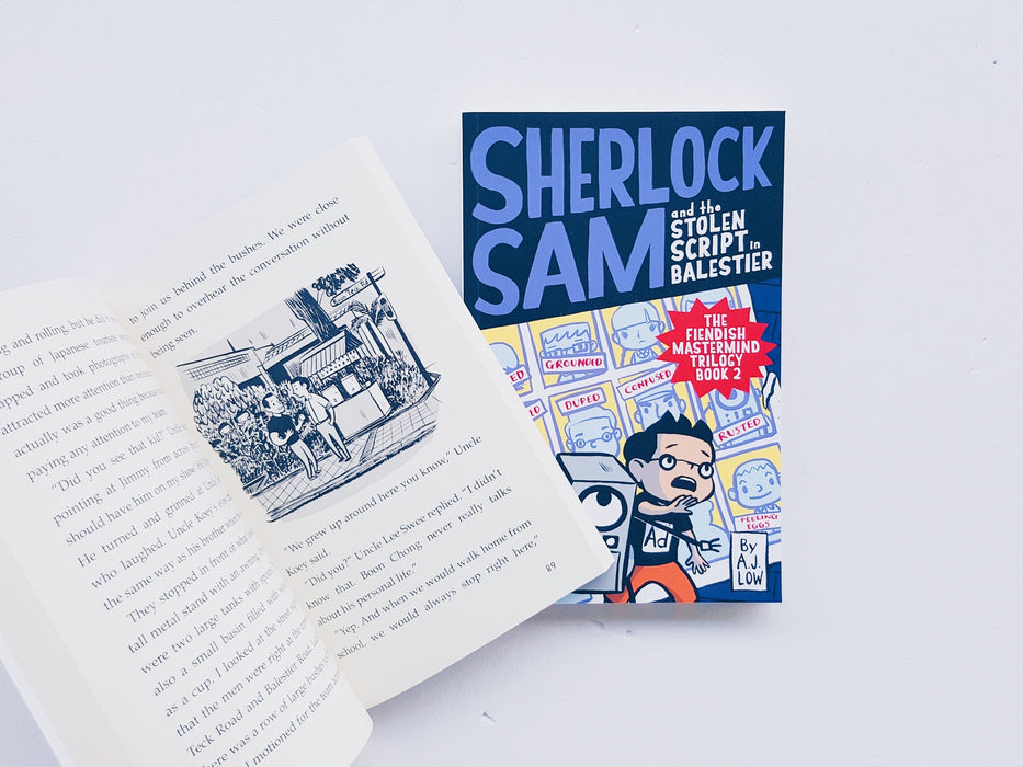 Sherlock Sam and the Stolen Script in Balestier