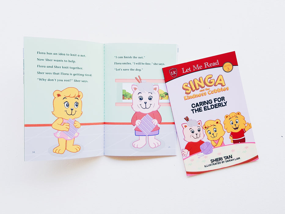 Singa and the Kindness Cubbies Series: Caring for the Elderly