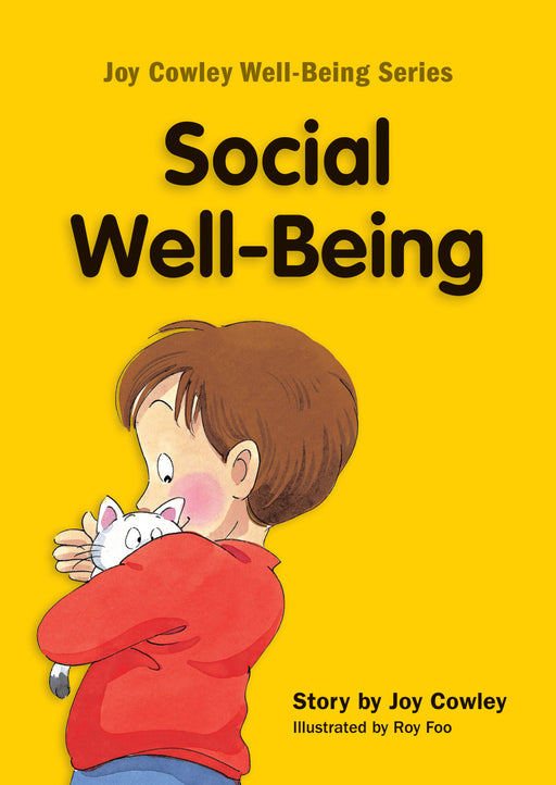 Joy Cowley Well-Being Series: Social Well-Being (English Edition) (Set of 8 booklets)