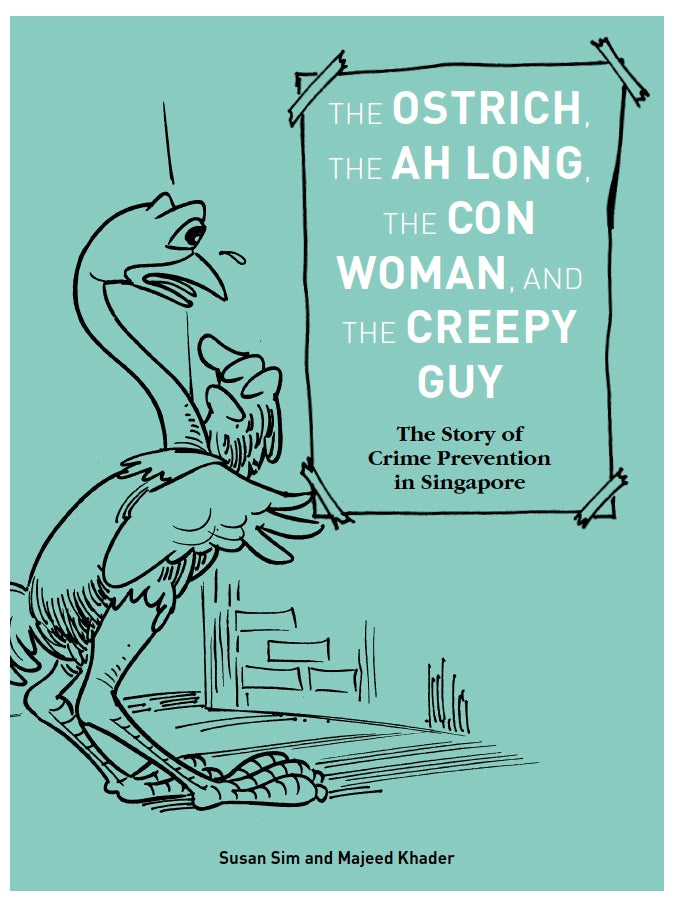 The Ostrich, the Ah Long, the Con Woman and the Creepy Guy - Localbooks.sg