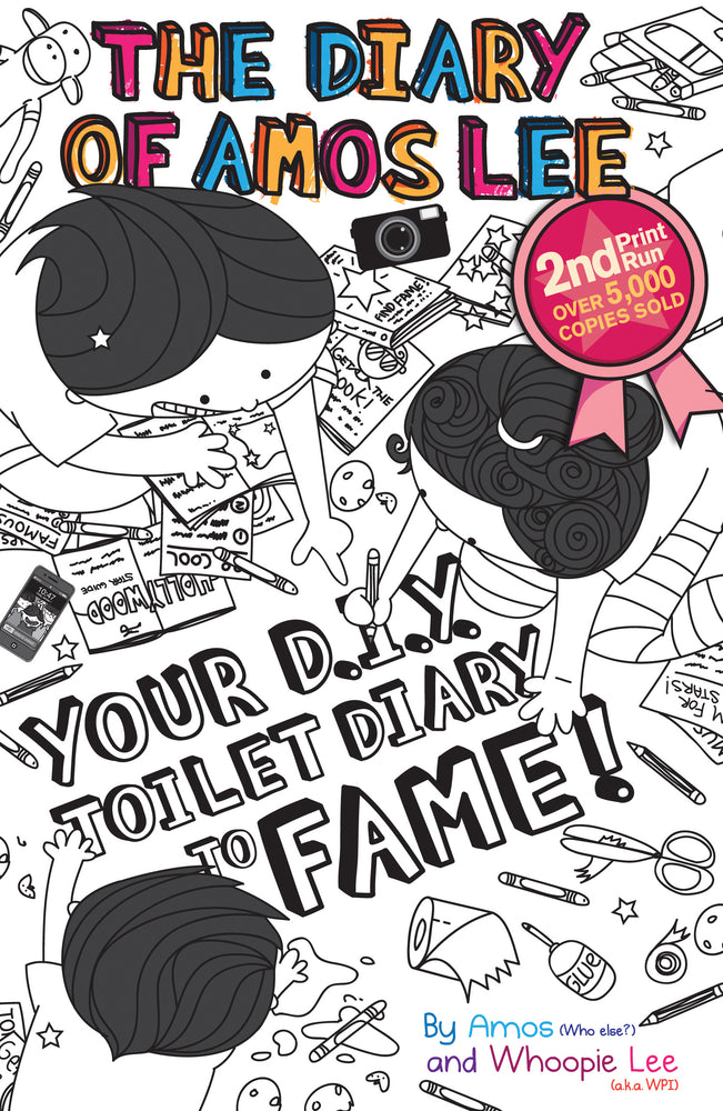 The Diary of Amos Lee: Your D.I.Y. Toilet Diary to Fame!