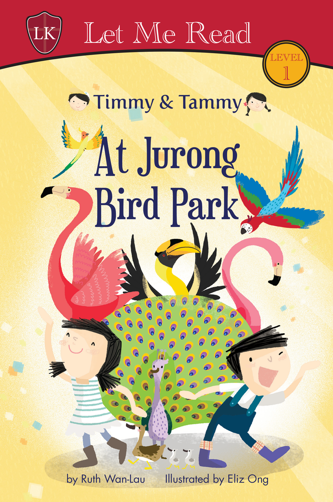 Timmy & Tammy Series (Level 1): At Jurong Bird Park