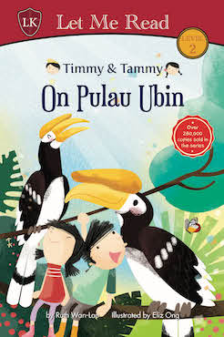 Timmy & Tammy On Pulau Ubin - Localbooks.sg