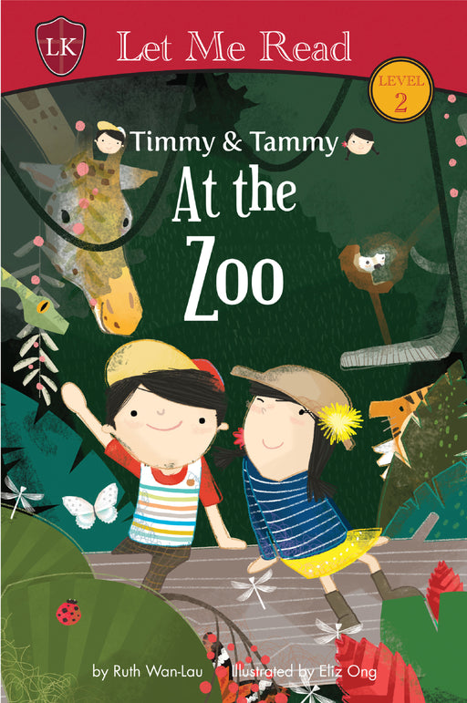 Timmy & Tammy Series (Set 3) : At the Zoo - Localbooks.sg