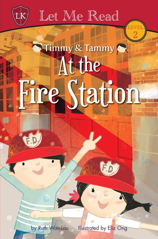 Timmy & Tammy Series (Set 1): At the Fire Station