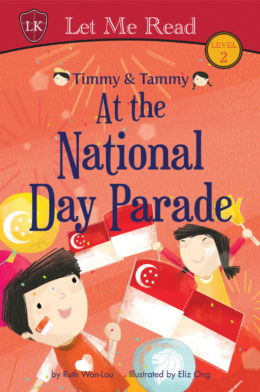 Timmy & Tammy Series (Set 3): At the National Day Parade