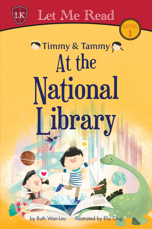 Timmy & Tammy Series (Set 1): At the National Library