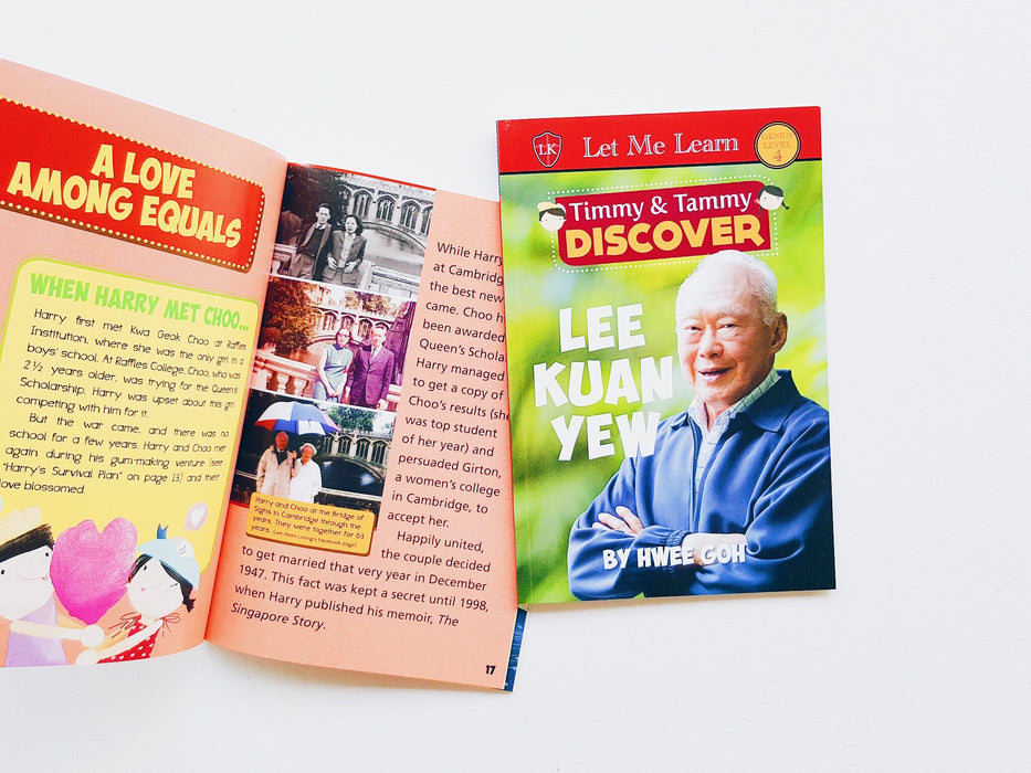 Timmy & Tammy DISCOVER Series: Lee Kuan Yew