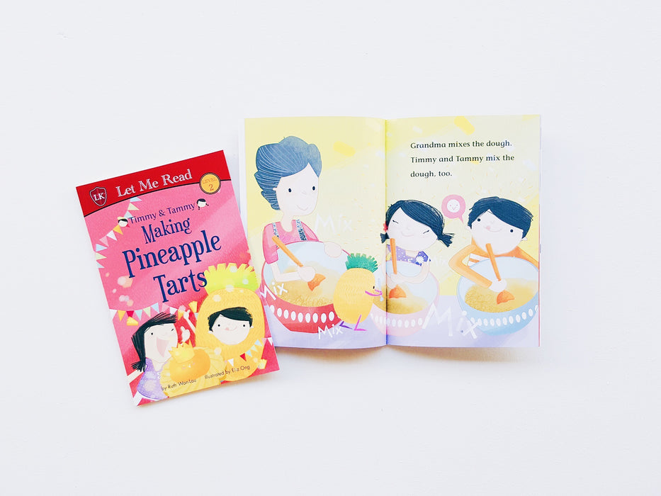 Timmy & Tammy Series (Set 2): Make Pineapple Tarts