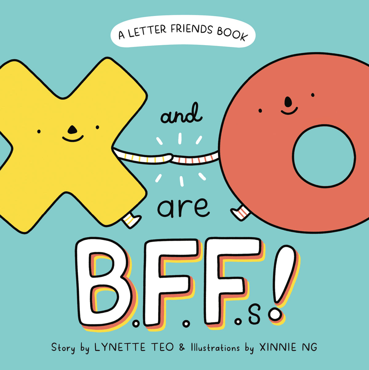 X and O are BFFs! — Localbooks.sg