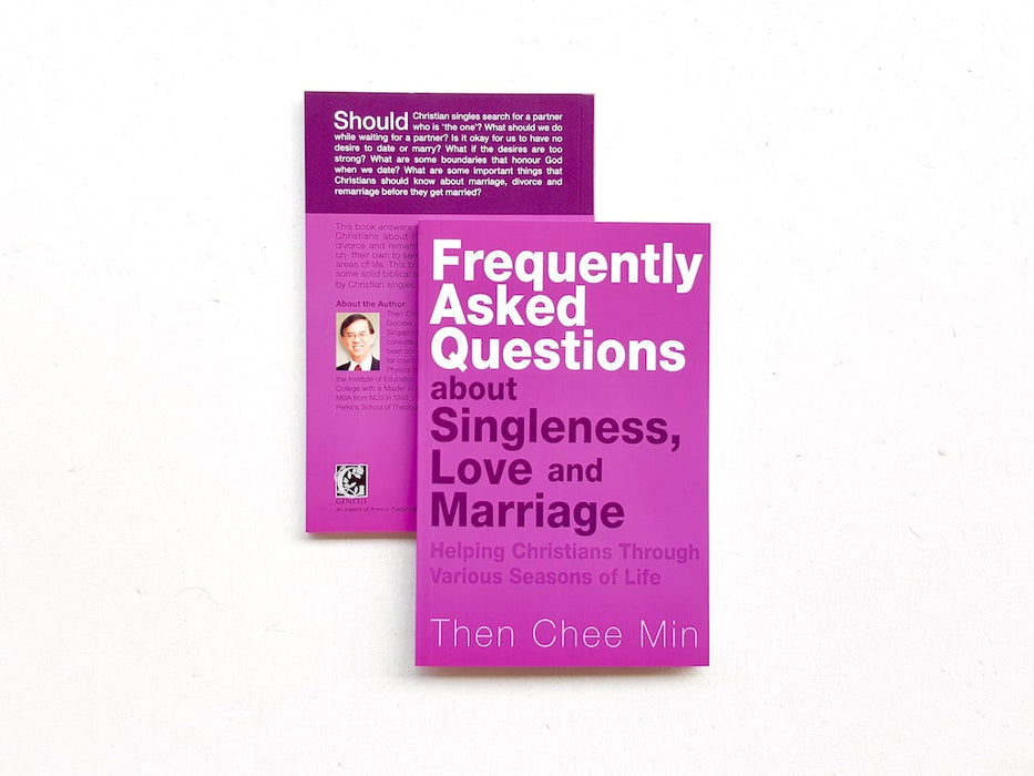 Frequently Asked Questions about Singleness, Love and Marriage - Localbooks.sg