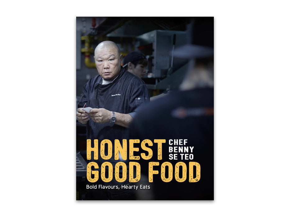 Honest Good Food - Localbooks.sg