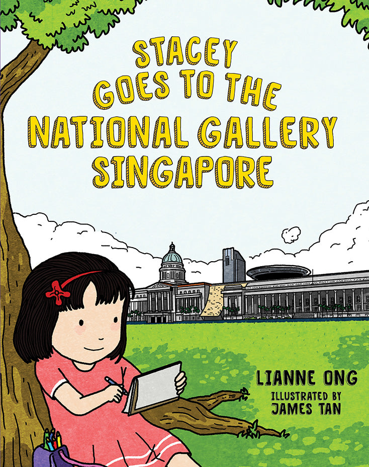 Stacey goes to the National Gallery Singapore by Lianne Ong and James Tan