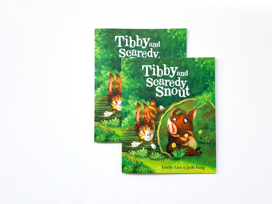 Tibby and Scaredy Snout by Emily Lim