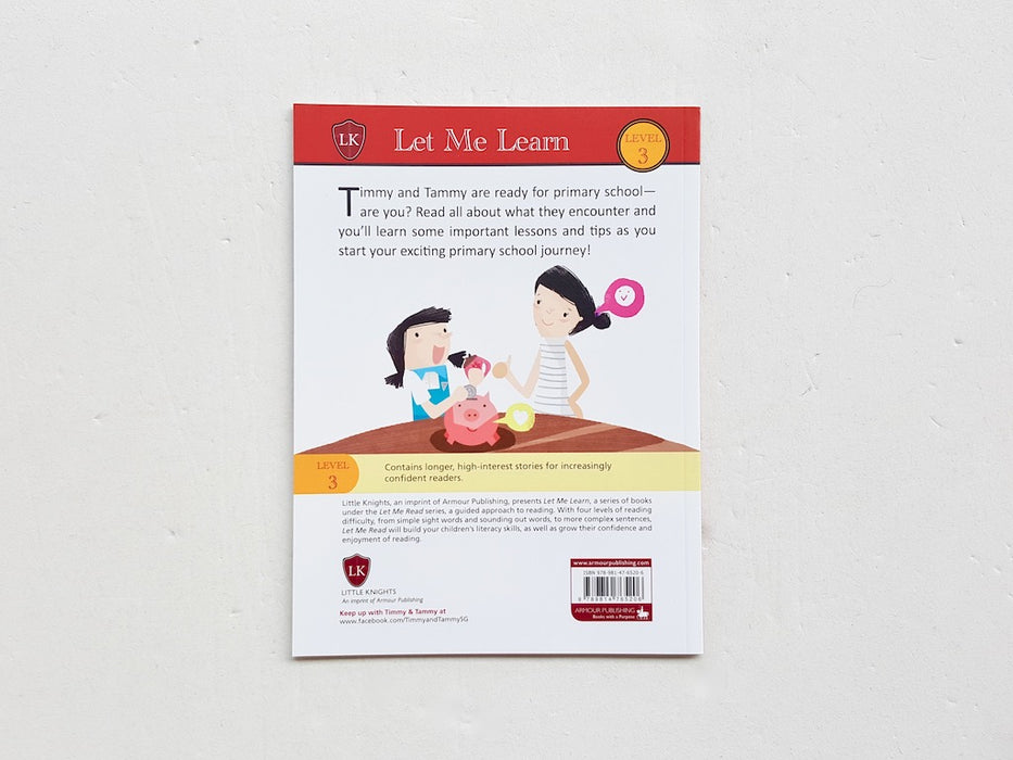 Timmy & Tammy: Guide to Primary One - Localbooks.sg