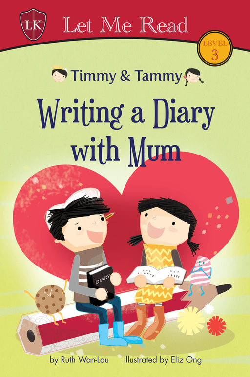 Timmy & Tammy Series: Writing a Diary with Mum - Localbooks.sg