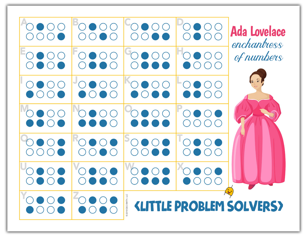 Ada Lovelace Punch Cards