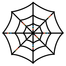 Load image into Gallery viewer, Ozobot Spider Web