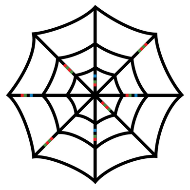 Ozobot Spider Web