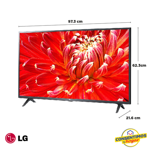 "Televisor LG 43"" 43LM6300PUB Smart TV LED FHD"