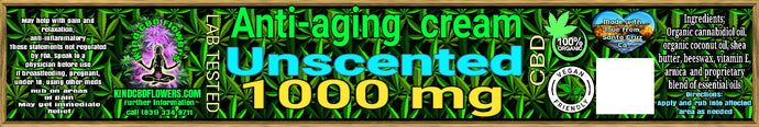 anti aging cream unscented
