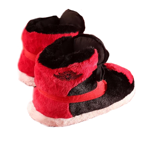 Bred 1 Jordan Slippers – Sneaker Slippers™ - Your Stylish Comfort d7f2cca53