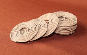 Seductively scented Indian jasmine incense coils by Heed Need