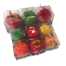 Succulent colored fruit scented candles to soothe your senses by Heed Need