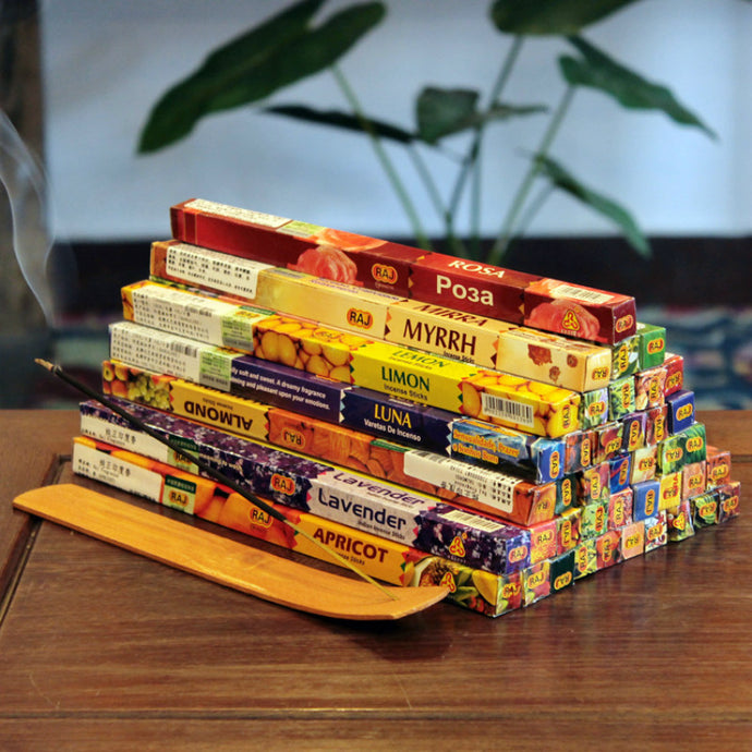 Handmade Indian incense - in sets of 5, 10 or 25 joss sticks by Heed Need